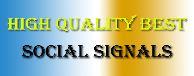 3200 High Best Quality Social Signals