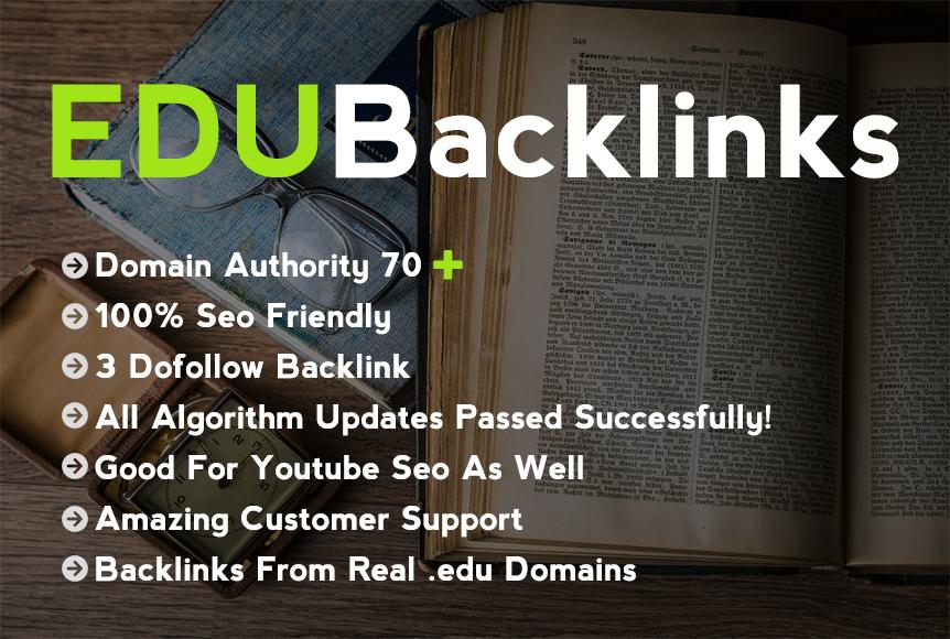 One EDU Comment Backlinks on EDU Websites