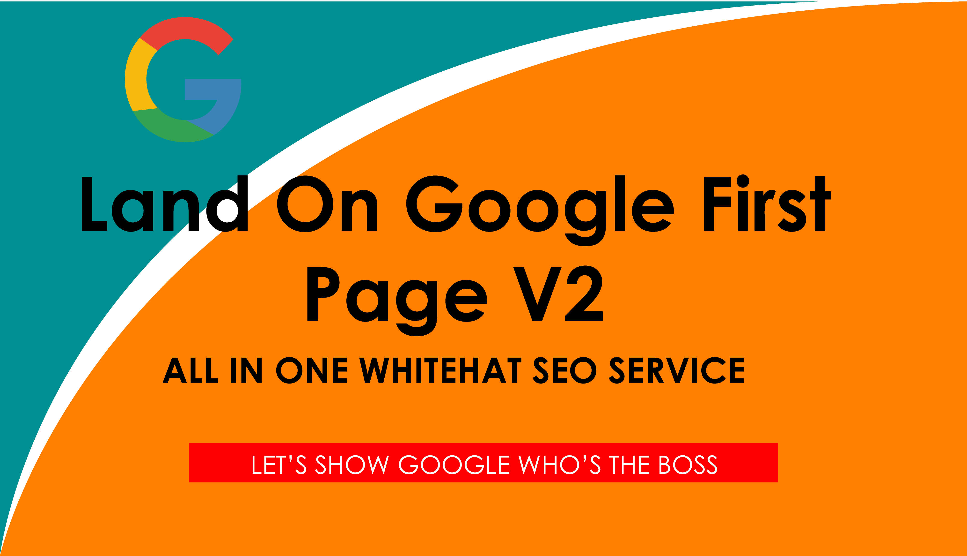 Land on Google 1st page V2 All In One WHITEHAT SEO Service