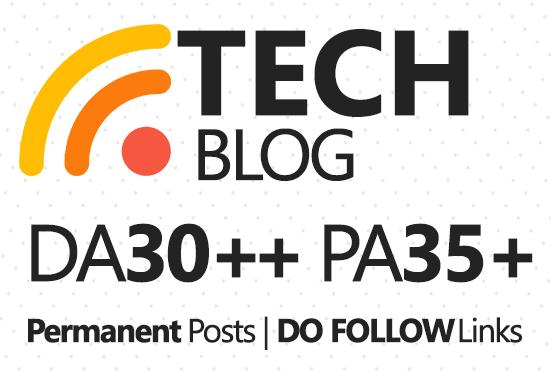 Live Guest Post On DA30 Technology Blog