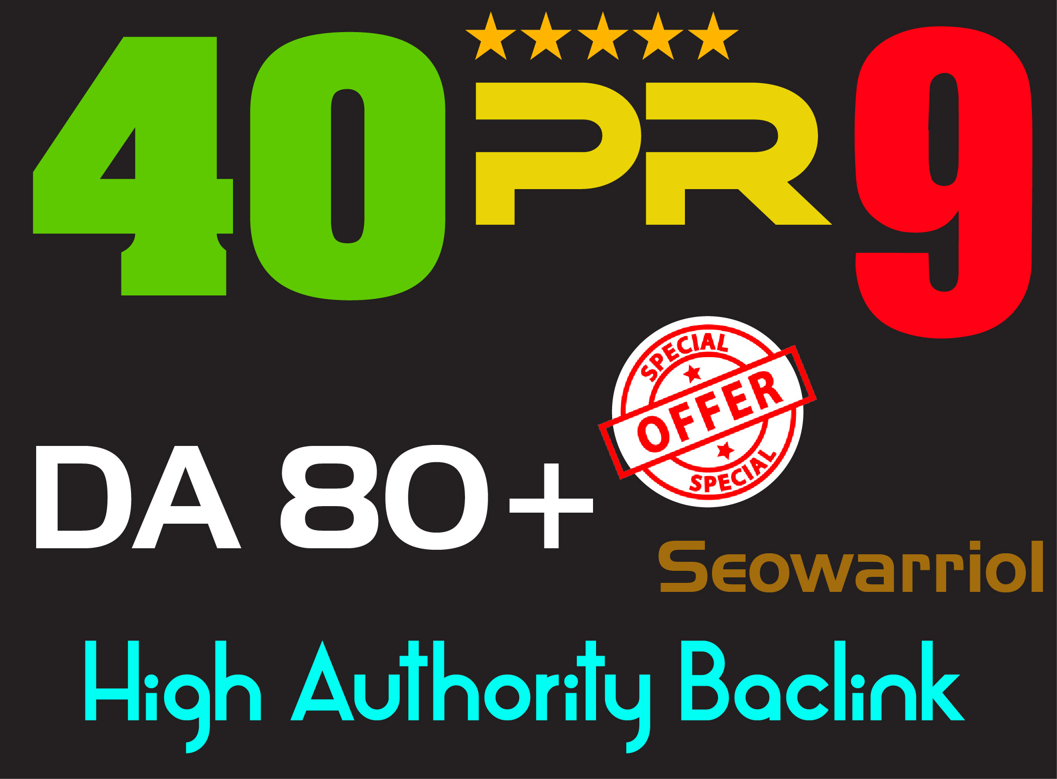Elevate your seo Google Rankings with 40 PR9 DA 80+high Quality safe backlinks