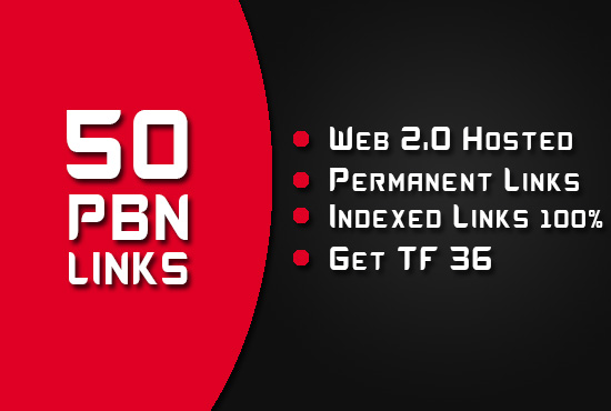 Create 50 Permanent PBN Posts,  Powerful PBN Links