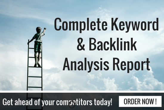 Competitive Keyword Research And Backlink Analysis
