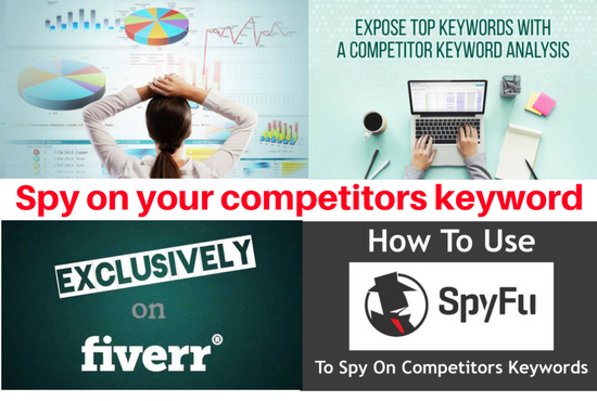 Spy On Your Competitors PPC Keyword