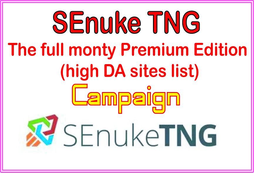Get The full monty Premium Edition -high DA sites lis...