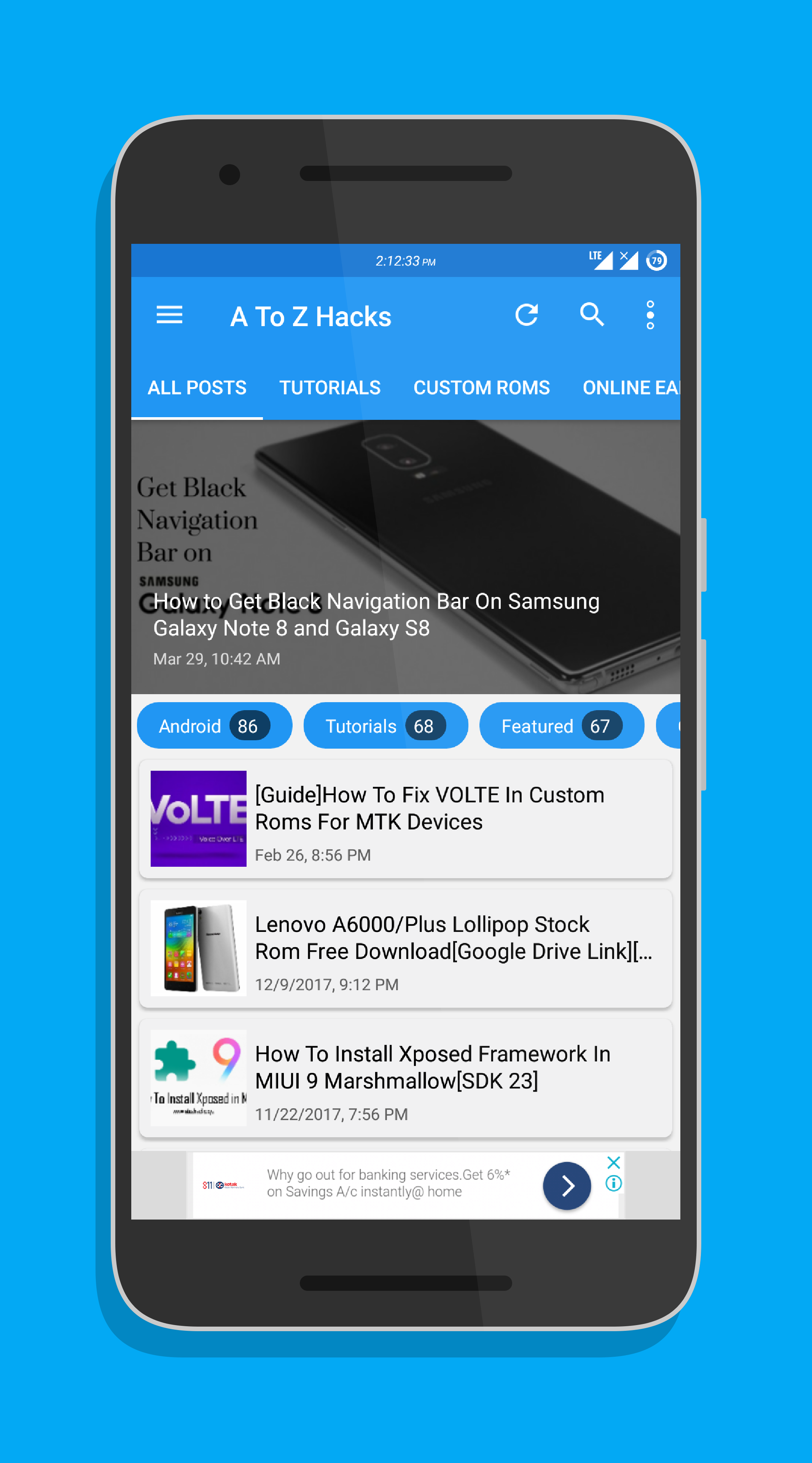 I Can Create A Android Application For Your WordPress Blog/Site