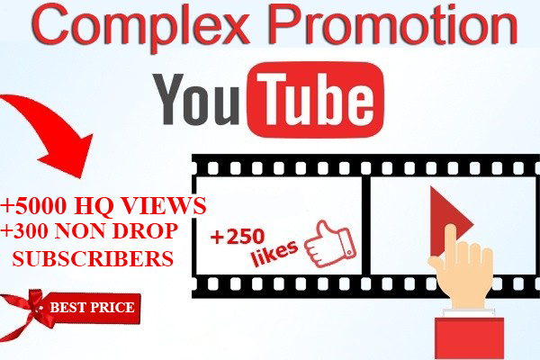 Stock Complex promotion on YouTube
