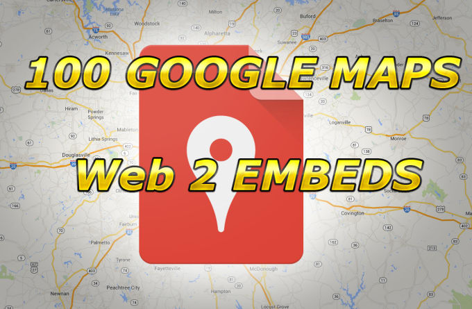 Embed Your Google Map In 1000 Web2 Sites