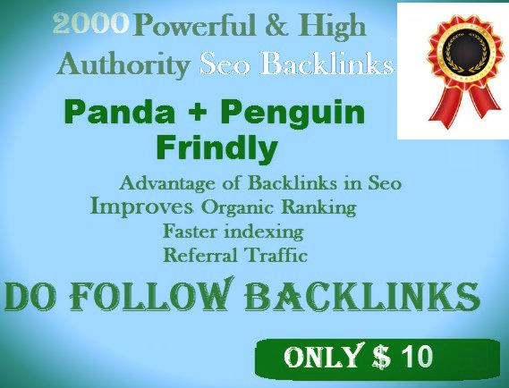 ProvideGSA SER 1500 High Athourity Da Pa Contextual Backlinks
