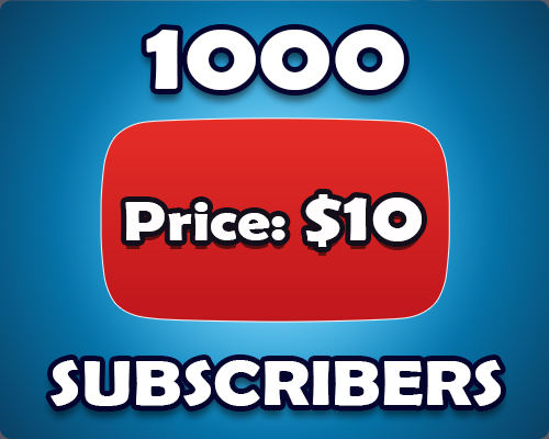 1k Non Drop YouTube Subscribers Within 1 Day Delivery
