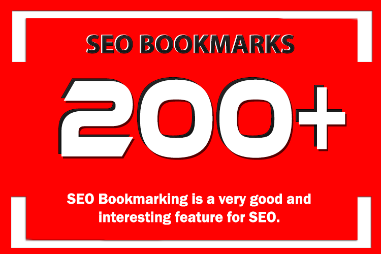 add 200 Social Bookmarking Backlinks to your Website URL to Rank You First on google