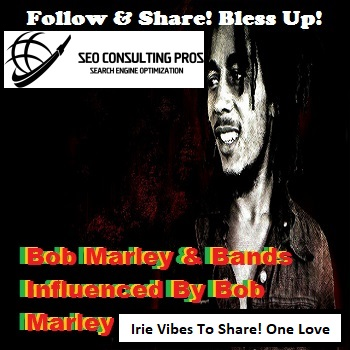 Bob Marley and Artists Influnced By Bob Marley Playlist SEO Promotion Top Ranked Service 30 Days