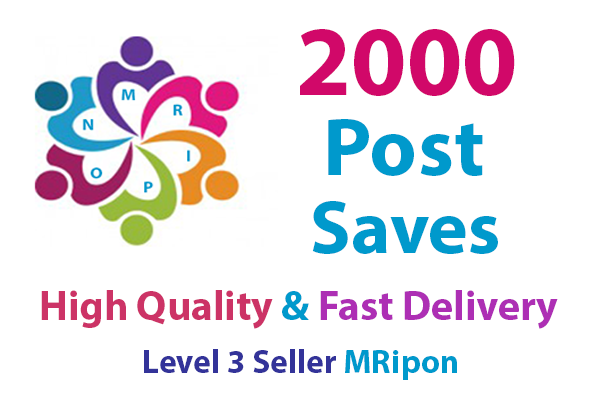 Add Instant 2000 High Quality Social Photo Post Saves