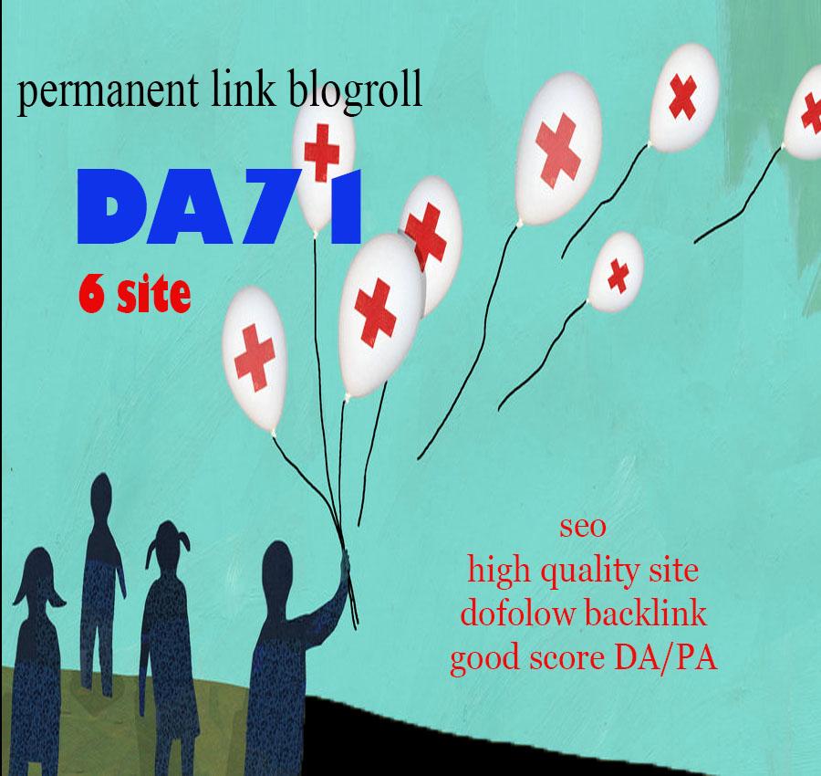Give U Blogroll Links DA71x6 HEALTH sites