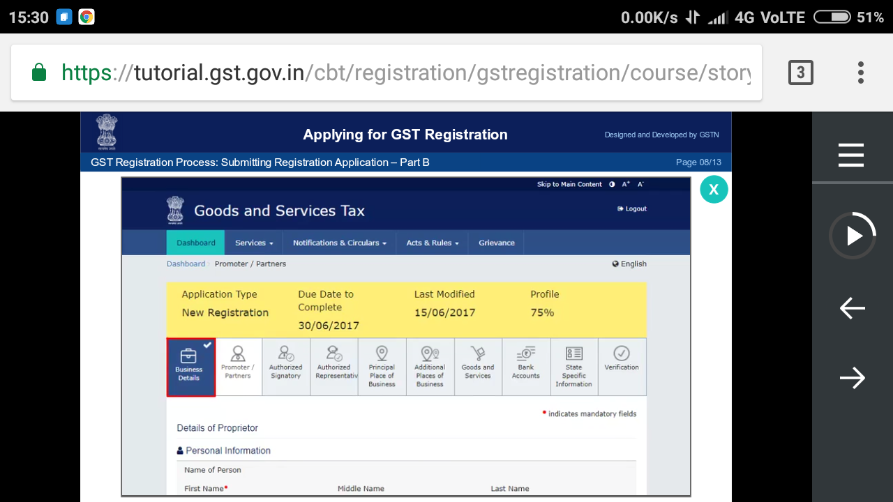GST FOR E-COMMERCE for
