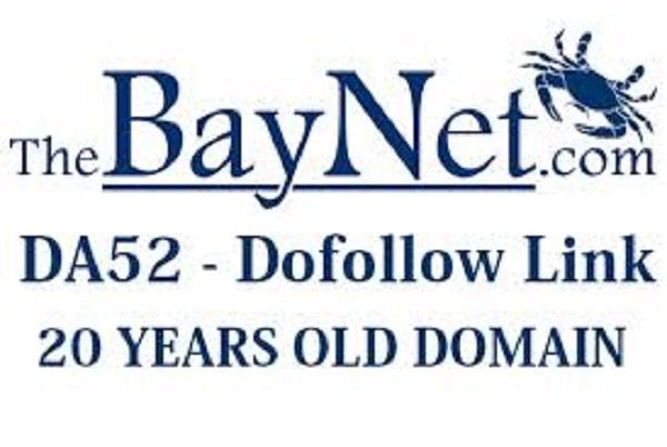 Write & Publish  guest post on thebaynet  DA52 dofollow backlink
