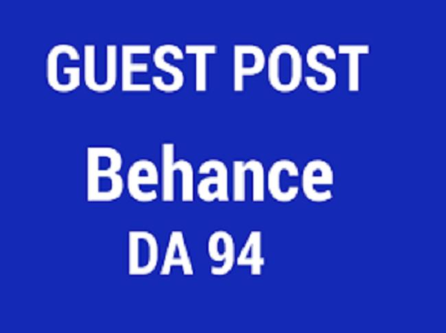 Write & Publish guest on BEHANCE [DA94]