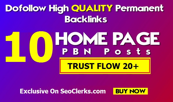 Get 10 PREMIUM Home Page TF 20+ STICKY Posts