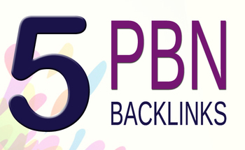 5 pbn- backlinks DA/PA 20 for your YouTube or blogs or websites