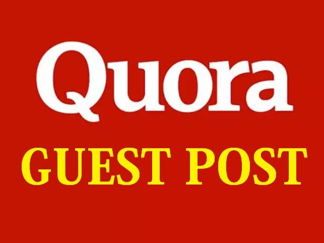 Write and Publish HQ Guest Post on Quora- DA89