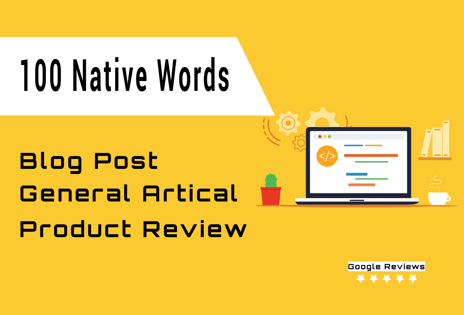 100 Native Words Articles or Product Reviews