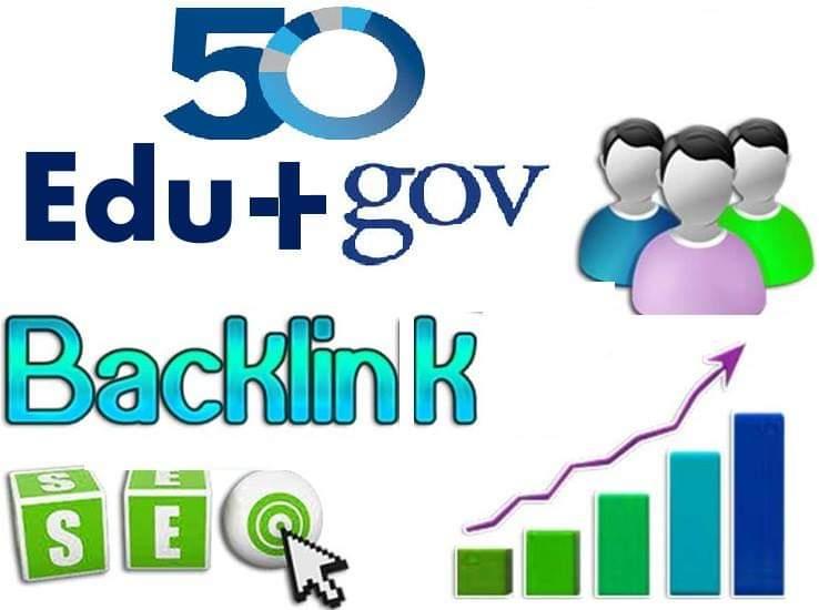 Creat 60 Edu or Gov Backlink Pr5-Pr10 with ping+ index