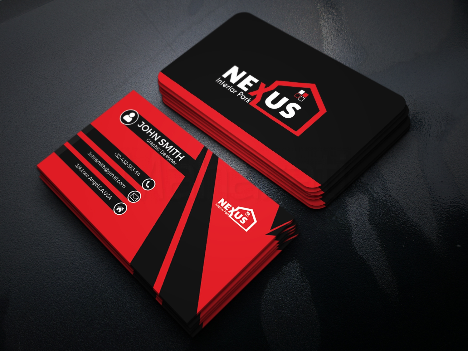 Do Professional Double Sided Business Cards design