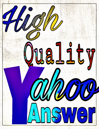 Promote your website 15 high quality yahoo answer