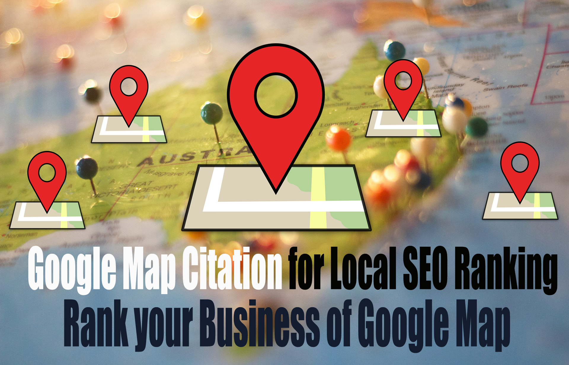 Increase Your Local Business I will Manually Create 50+ Google Map Citations for Local SEO Ranking