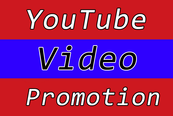 High Quality YouTube Video Viral Marketing and Seo Promotion
