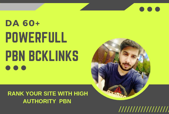 Boost your Ranking in 2 week with 5 high authority PBN homepage Backlinks boost
