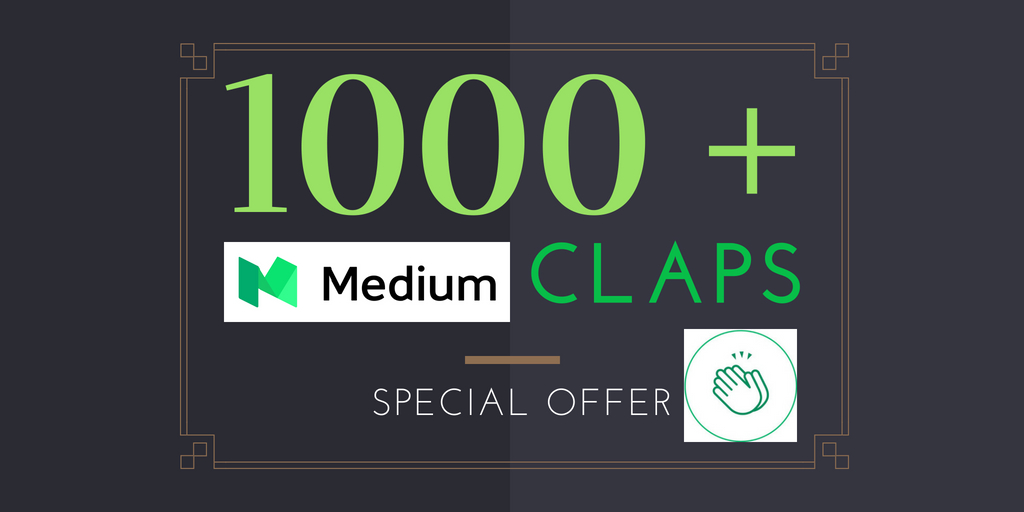150+ Medium Claps on your Medium Article medium upvot5