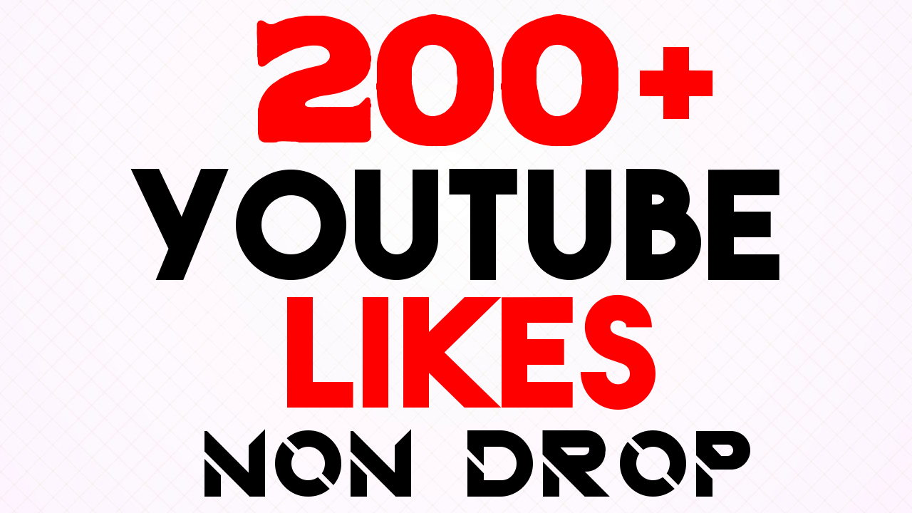 Get 200+ YouTube LIKES Very Fast Speed With Lifetime Guarantee