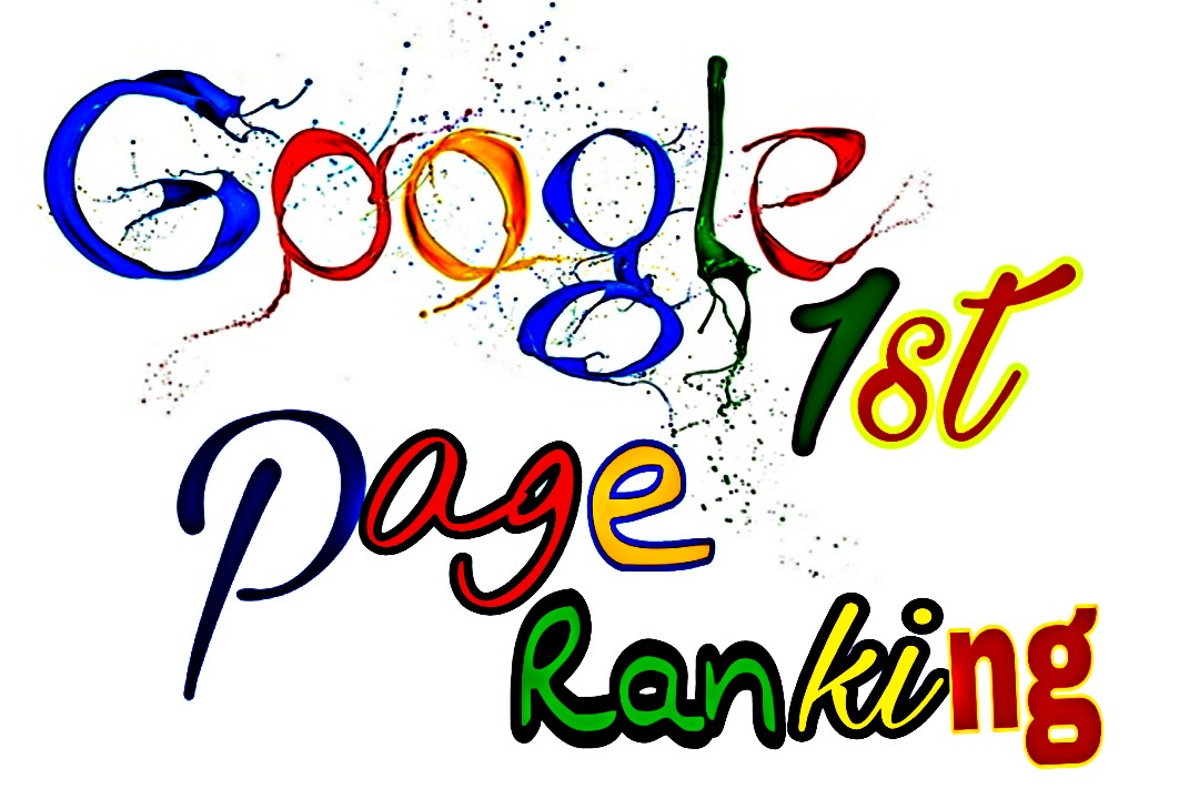 I will give Guaranteed rank your website on google 1st page