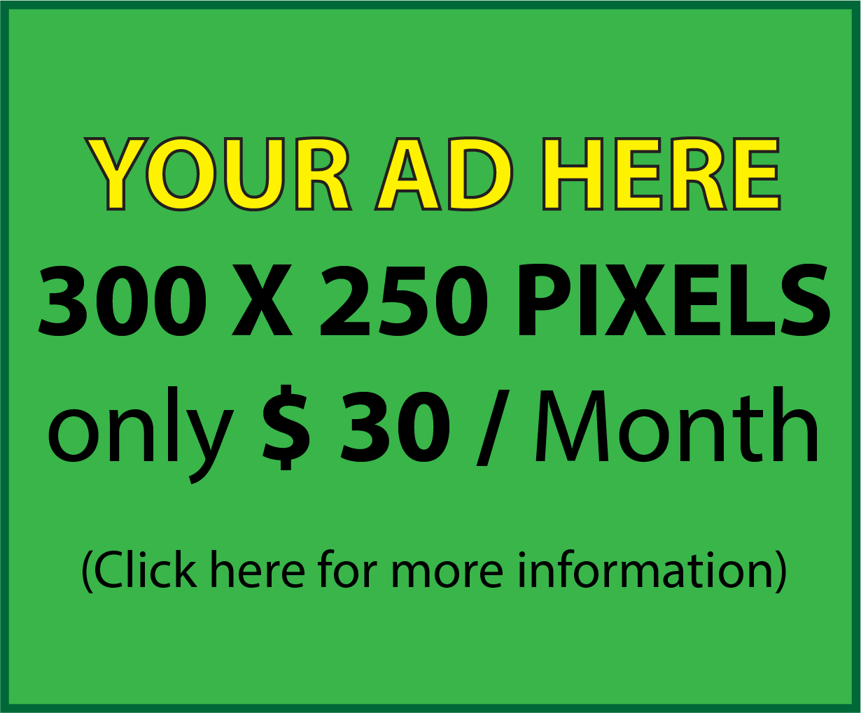 publish your Bannar Ad with me in high ranking sites