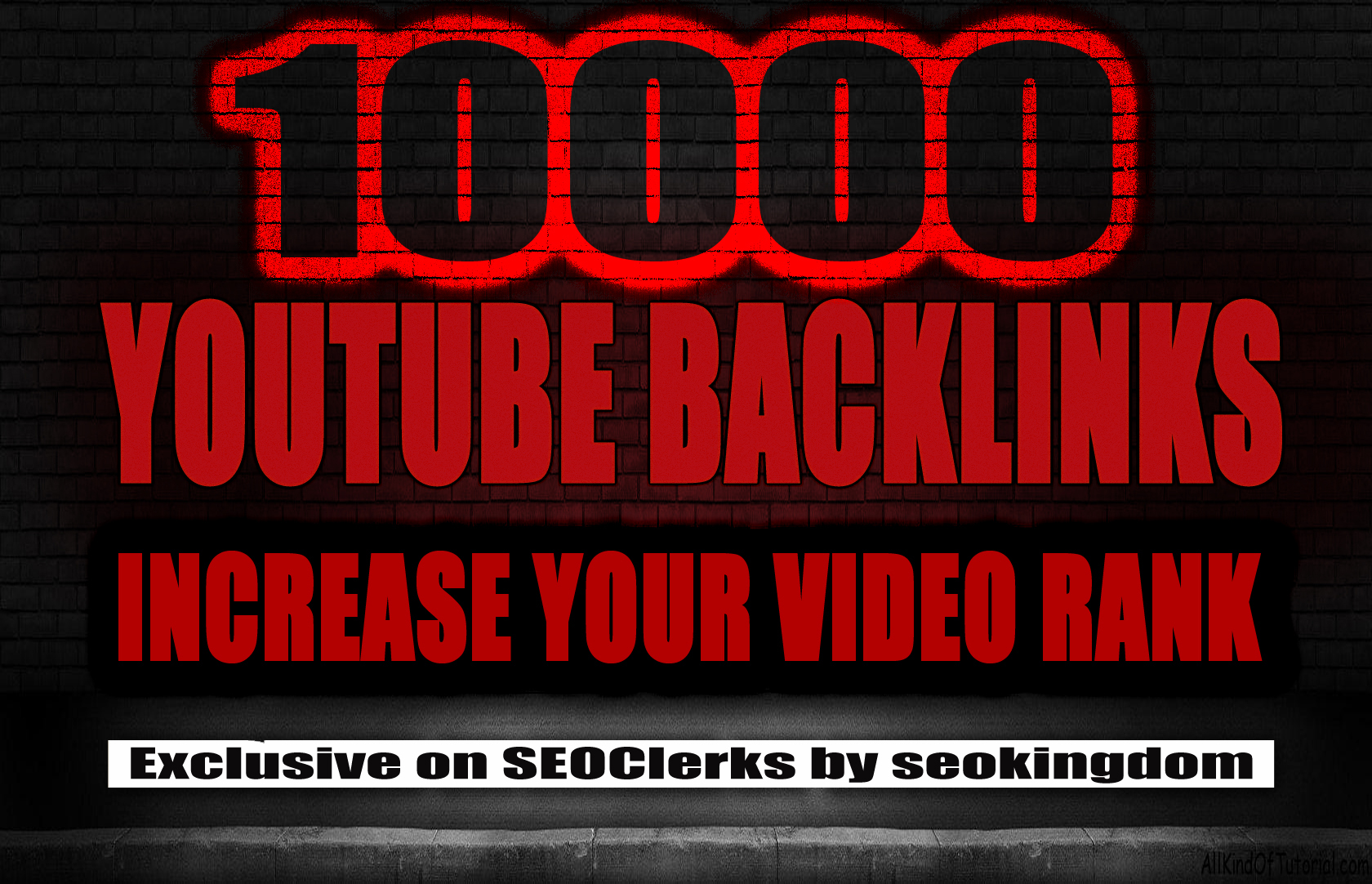 10000 Super Cool GSA YouTube Backlinks for increase your video Rank
