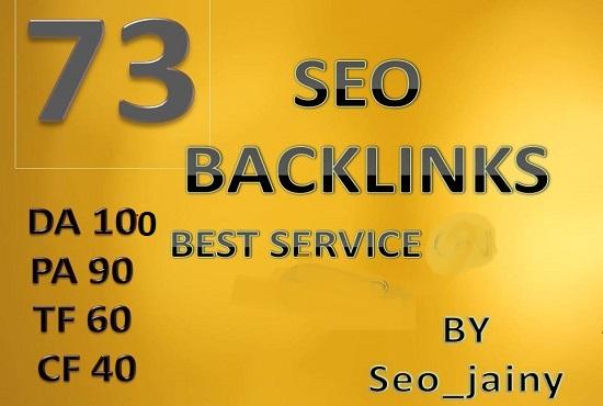 make 73 backlinks linkbuilding for your sites