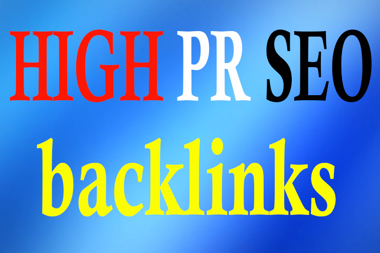 MANUALLY CREAT 50 HIGH PR SEO BACKLINKS GOOGLE RANKING HELP