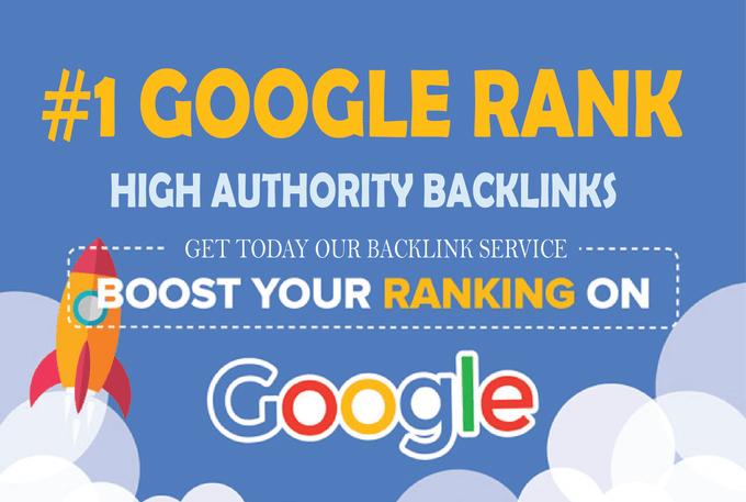 Google Ranking High Authority Seo Backlinks