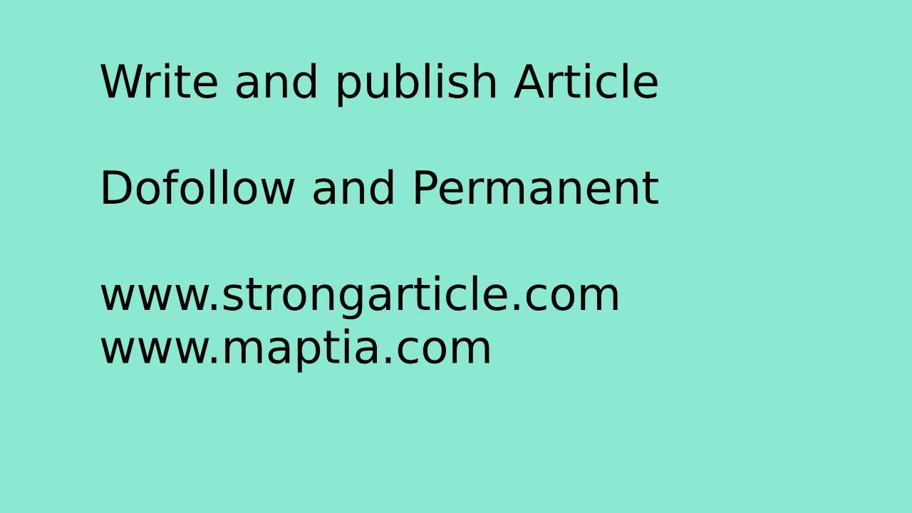 publish guest post on two high PA DA domain