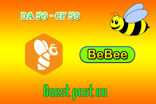 Write And Publish Value Guest Post On Bebee Da55