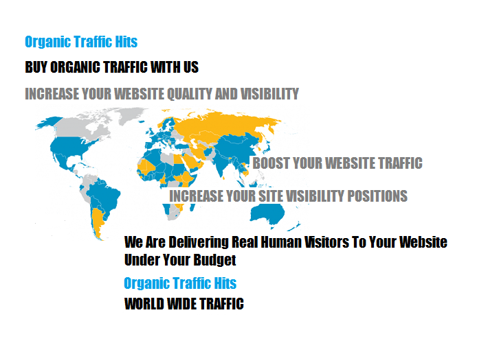 Worldwide Organic Traffic for 30 Days