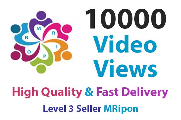 Start Instant High Quality Non-drop Social Video Views