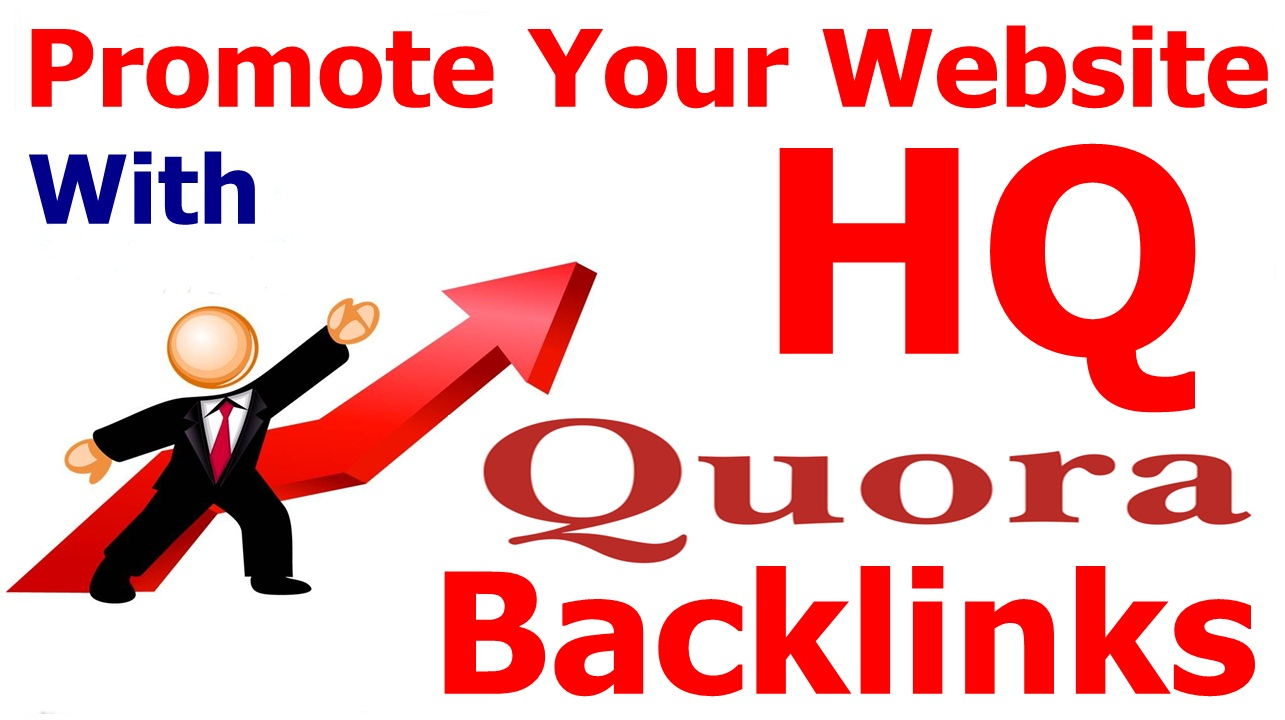 High Quality 08 Quora answers for your website ranking
