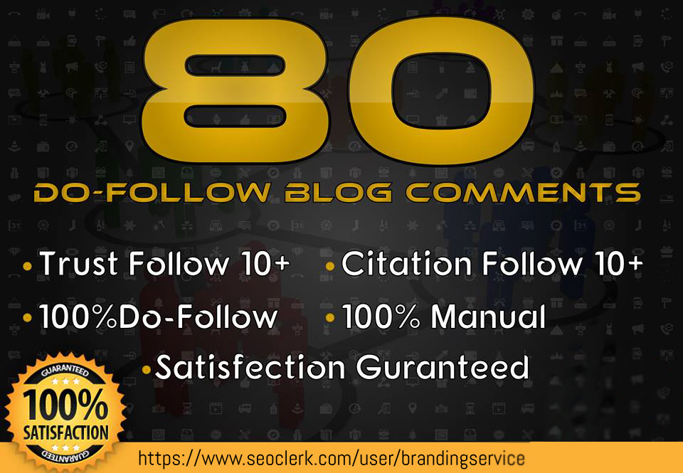 build do follow high quality 80 blog comments submission