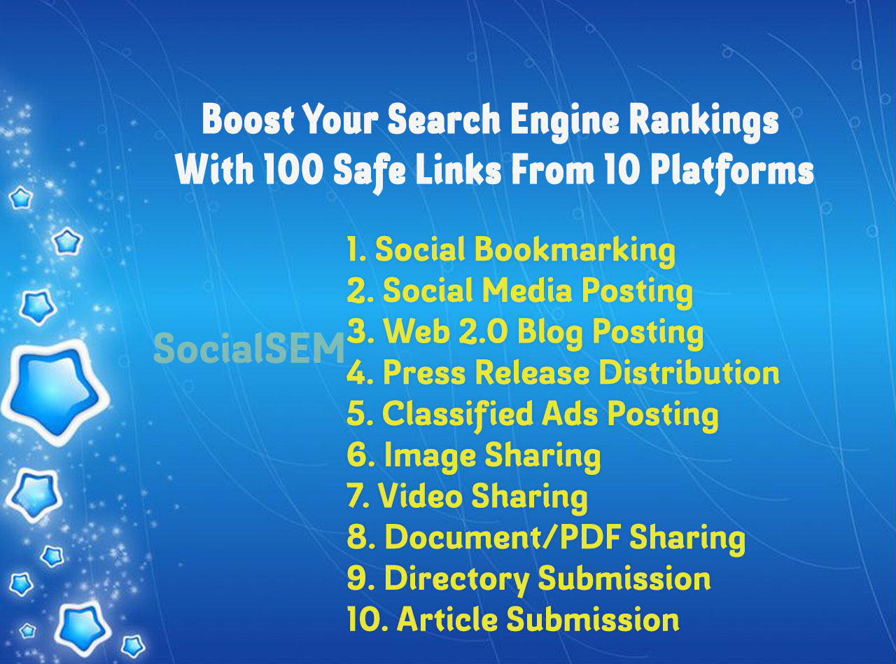 Boost Your Search Rankings With 100 High Authority Links