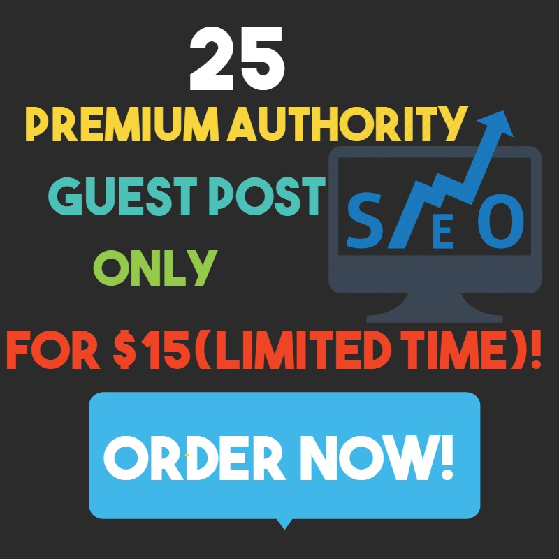 I will Shoot You on TOP with Premium Authority Guest Post
