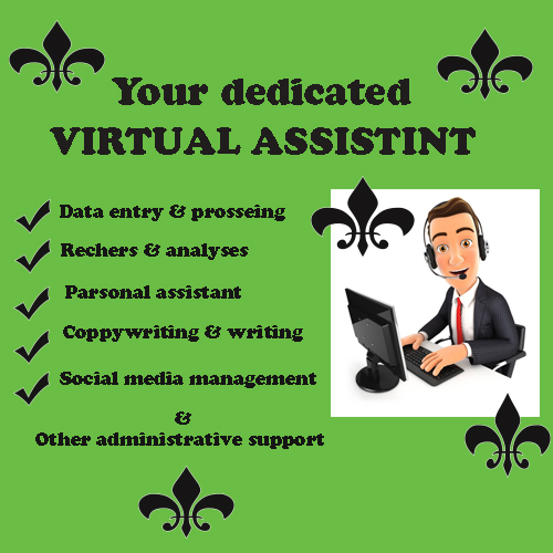 I can be your virtual assistant for 5 hours