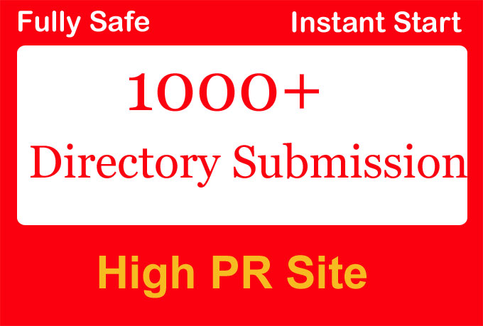Create 5000 Directory Submission Backlink with High PR