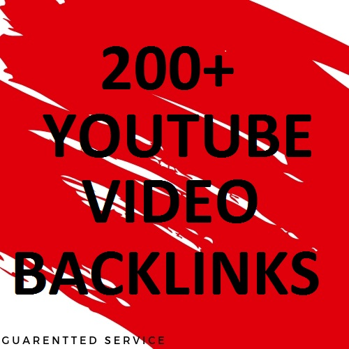 Per link 200 Manual Top social bookmarking for YouTube video Back links
